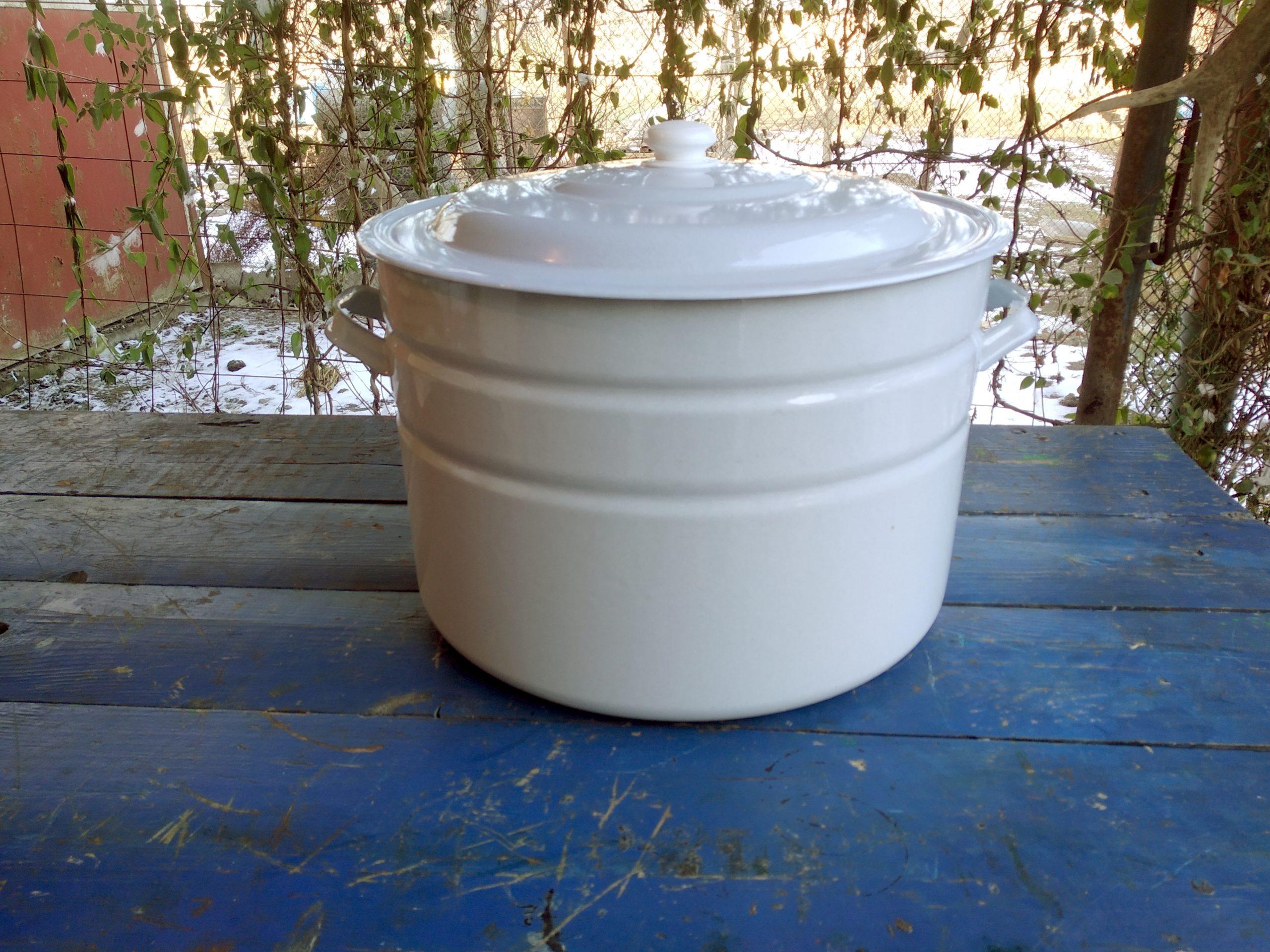 Эмалированная кастрюля 40 литров