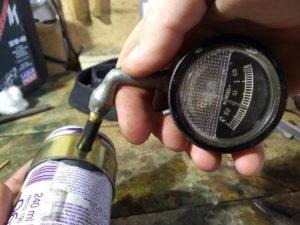 Проверка давление в баллоне WD-40