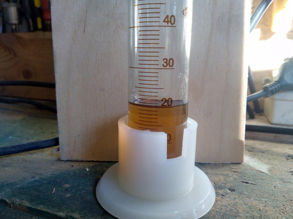 Масло 10W-40 в колбе