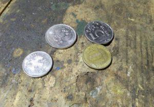 Монеты современной России 5 рублей и 10 рублей