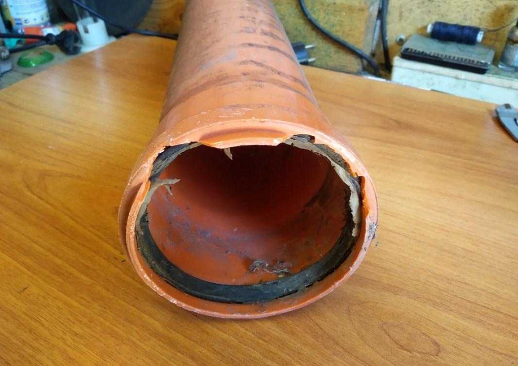 Канализационная трубы диаметр 110