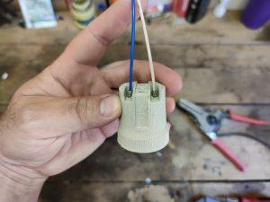 Как подключить керамический патрон