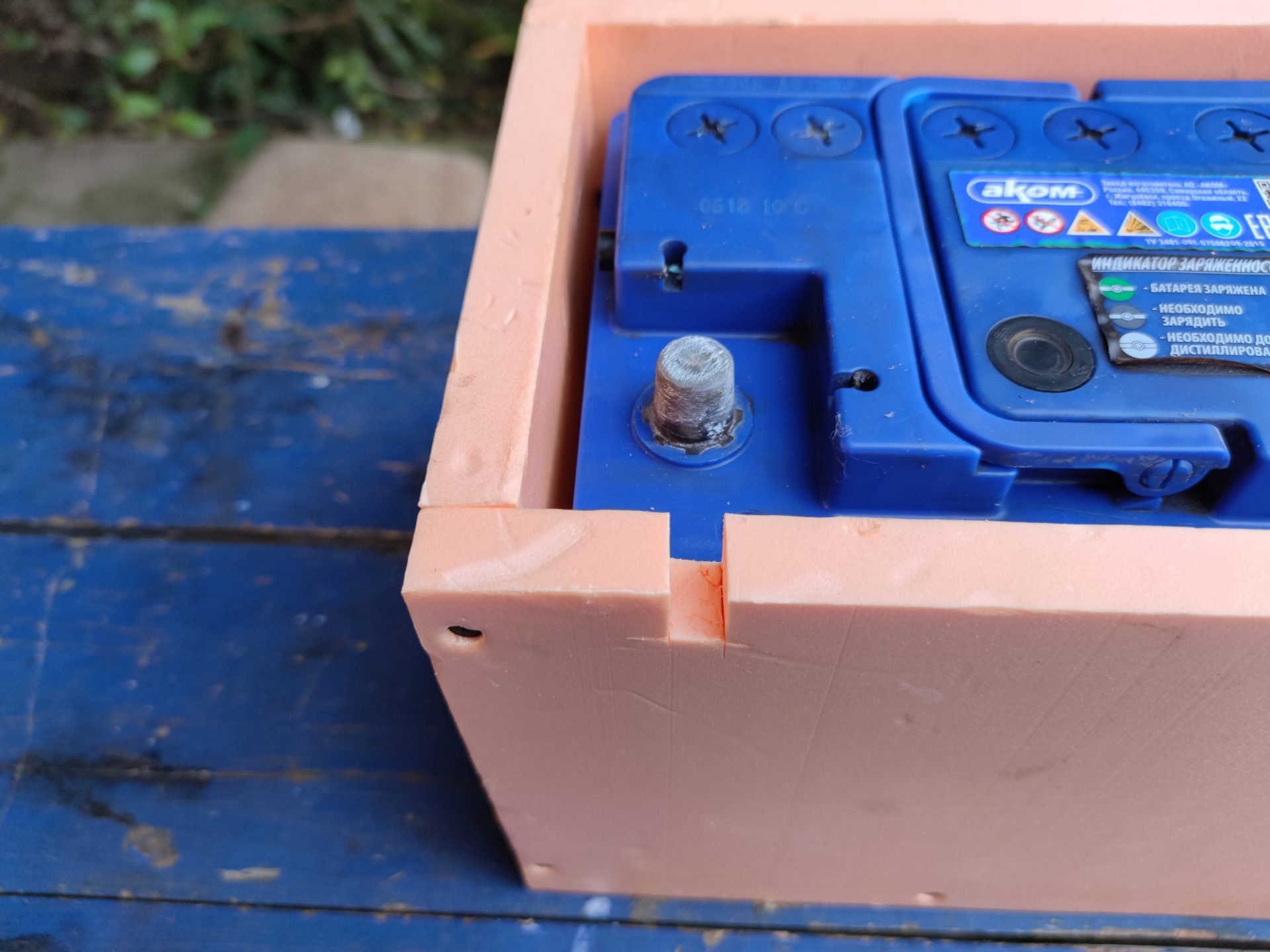 Как защитить аккумулятор от замерзания электролита зимой